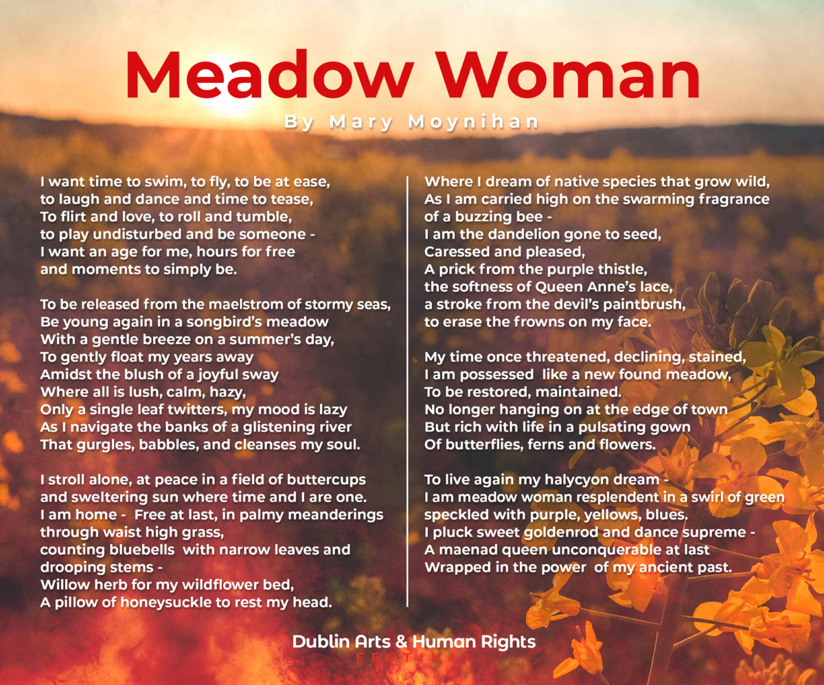 Cover - Meadow Woman by Mary Moynihan