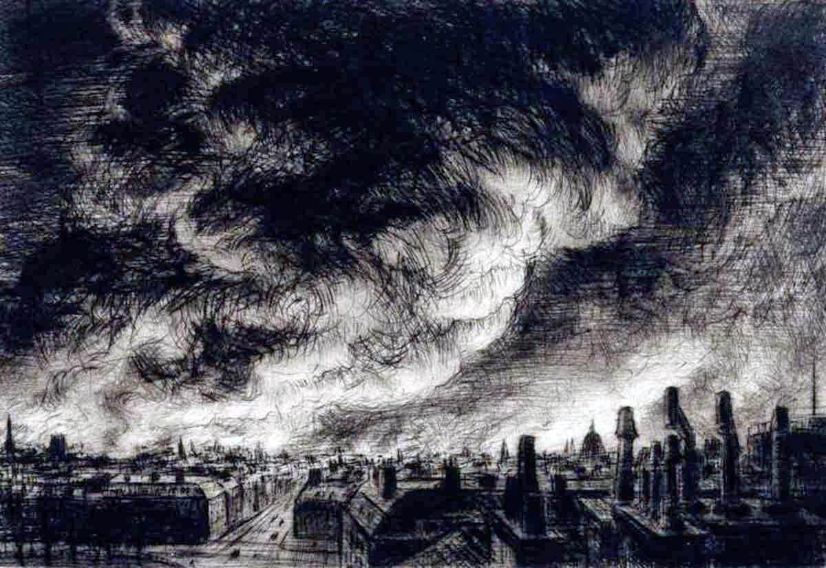 Joseph Gray,  'Battle of Britain: The First Blitz', 1940