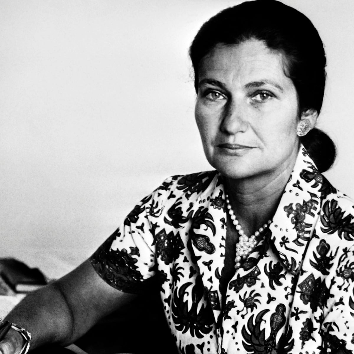 Simone Veil - Credit Photograph: -/AFP/Getty Images