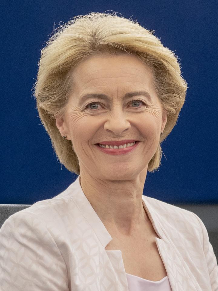 Ursula von der Leyen, German Politician and President of the European Commission since 1 December 2019